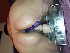 My old friend 2 - loud orgasm with anal beads and big dildo