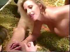 incredible blonde swedish skank loves hardcore threeway