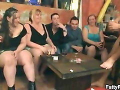 bbw have fun that leads to group sex