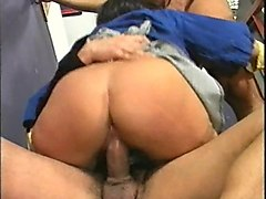 mature housemaid gets ass fucked by a stranger