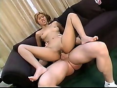 Fabulous pornstar in horny small tits, anal sex movie