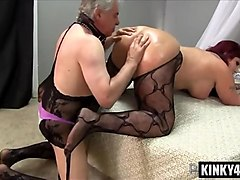 big ass slave femdom with cumshot