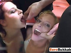 dirty european sluts enjoys in drinking piss and licking their pussies