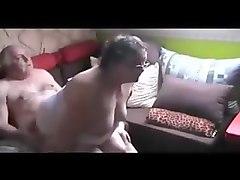 fat grandma riding grandpa