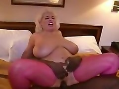Hottest Grannies, Interracial porn video