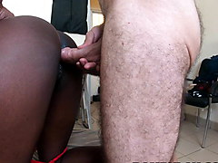 Amateur Black Teen Creampie