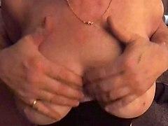 cougar big natural boob being groped 2018