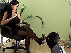 lick my heels clean...looser