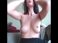 gorgeous babe rubs pussy - add her on snapcht: rubysuce