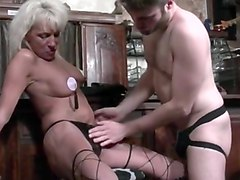 Amazing Bisexual, Grannies xxx scene