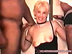 velvet swingers club milf with two bbc friends