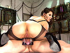 Danny Wylde & Bobbi Starr in Danny Wylde Gets His Prostate Milked By Bobbi Starr - DivineBitches