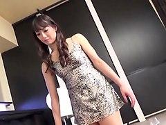 japanese, lingerie, femdom handjob, asian femdom, blindfold