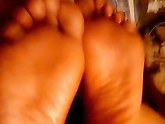 double footjob from latina sisters...