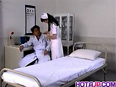 Eri Ueno nurse is fucked on hospital bed - More at hotajp.com