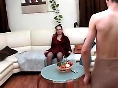 mature woman seduce guy to have sex
