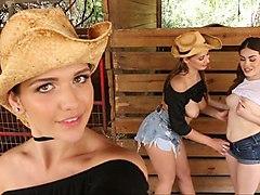 teen, friend, farm, young, lesbian