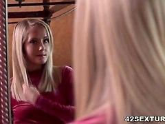 small titted blonde babe sicilia