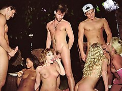orgy at the tennis club