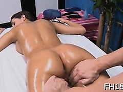 charming sexy gets naked for her raunchy massage