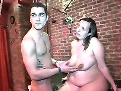 Incredible amateur Mature, BBW sex clip