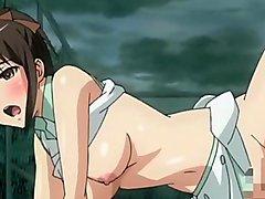 Anime Mio &_ Ai / 2 young girl'_s lesbian play / アニメ 女子高生 レズ プレイ