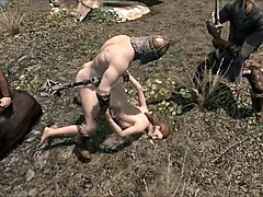 elisif nude and helpless in skyrim pt2