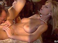 mouth-watering milf brooke banner gets her pussy licked and fucked