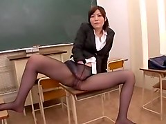 Exotic Japanese slut Nanako Mori in Amazing Masturbation, Cougar JAV scene