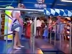 Upskirt at oktoberfest 360p