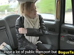 taxi amateur pussyfucked in cabbie backseat