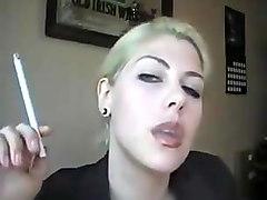 trisha annabelle virginia slims 120s on webcam