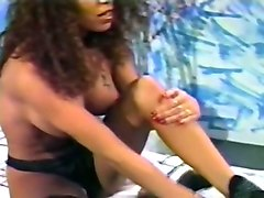 beautiful brown skin sexy babe undressed and masturbated