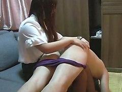 chinese femdom spanking