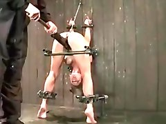 The brutal fun with slave