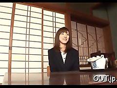 Exquisite young asian girl Kanako Iioka gets nailed hard