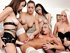 Emylia Argan & Lovita Fate & Barbara Bieber & Victoria Pure & Nicole Love in Spend Some Time - DogHouseDigital