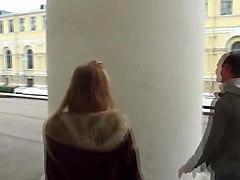 Romantic sex scene with sexy blonde