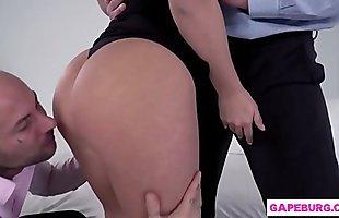 Lana Roy rough double penetration