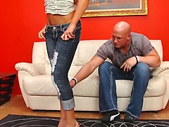 wankz- briana blair fucked with her jeans on