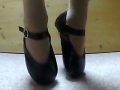 Extreme ballet heels
