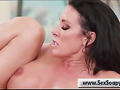 Busty milf Reagan Foxx gets banged by her masseuse