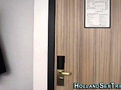 lesbian hooker eats pussy
