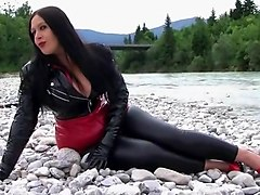 handjob, river, straight, mature, glove