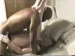 white moaning wife was ready for some interracial hard fuck on cam