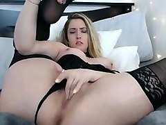 Nikki Haze bares all for cam show on SexyChatCam - Part 1