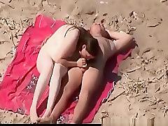 Old guys fucking in nudist beach