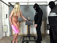 jacky - no escape on the sybian
