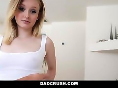 dadcrush - fathers day surprise from blonde cutie