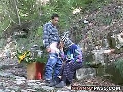 xhamster, young, granny, grannies, outdoor